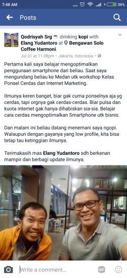 Mas Qodrisyah dari Medan