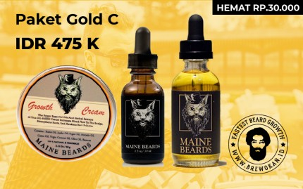 Paket Gold C (Serum Oil Cream) logo