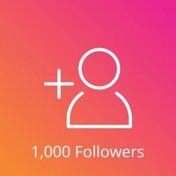 1,000 Instagram Followers Pasif logo