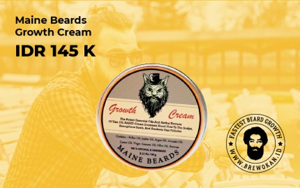 Maine Beards Growth Cream logo