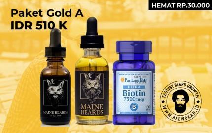Paket Gold A (Serum Oil Biotin) logo