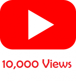 10,000 Youtube Views logo