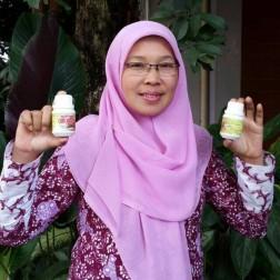 Paket 50 Botol Kapsul Kunir Putih Curcuval DP store