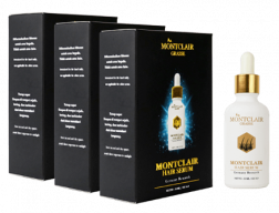 Montclair Grasse Hair Serum Paket Gold + FREE ONGKIR