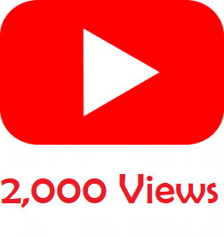 2,000 Youtube Views logo