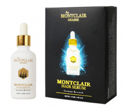 Montclair Grasse Hair Serum Paket Silver logo