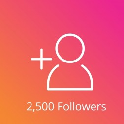 2,500 Instagram Followers Aktif logo