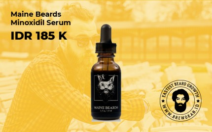 Maine Beards Serum logo