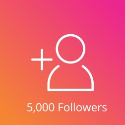 5,000 Instagram Followers Pasif logo