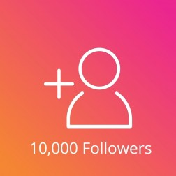 10,000 Instagram Followers Pasif logo