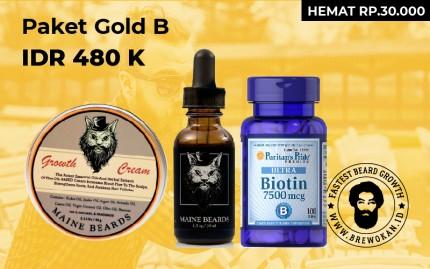 Paket Gold B (Serum Biotin Cream) logo